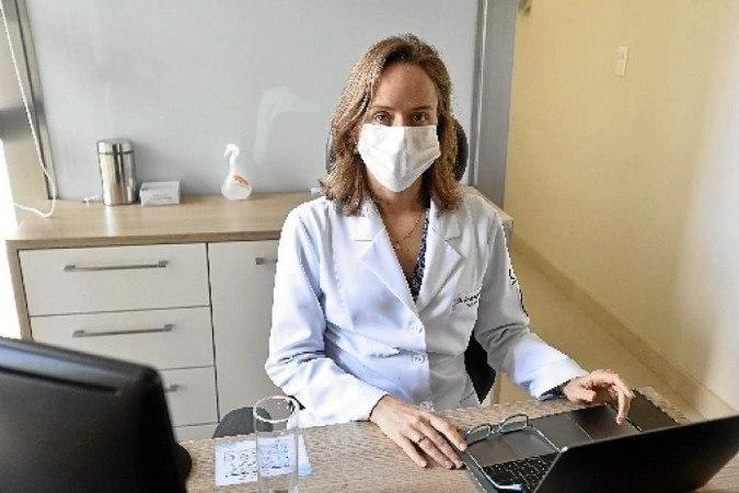 Trabalho premiado da psico-oncologista Cristiane Bergerot aborda avaliação oncogeriátrica via telessaúde - (crédito: Minervino Junior/CB/D.A Press )
