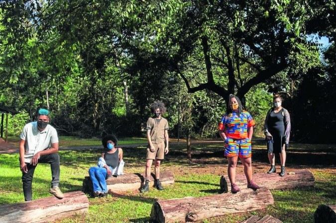 Produção executiva da segunda edição do ODU - Festival de Arte Negra -(crédito: Sheyden/Acervo ODU/Divulgação)