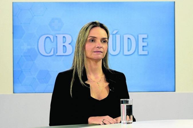 Médica conversou com a jornalista Carmen Souza nessa quinta-feira (29/7) -  (crédito: Marcelo Ferreira/CB/D.A Press)