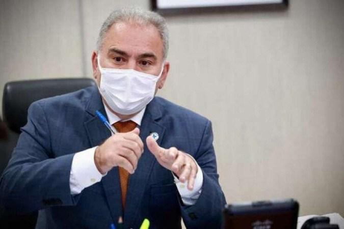 (crédito: Ministro da Saúde, Marcelo Queiroga (foto: Walterson Rosa/MS))