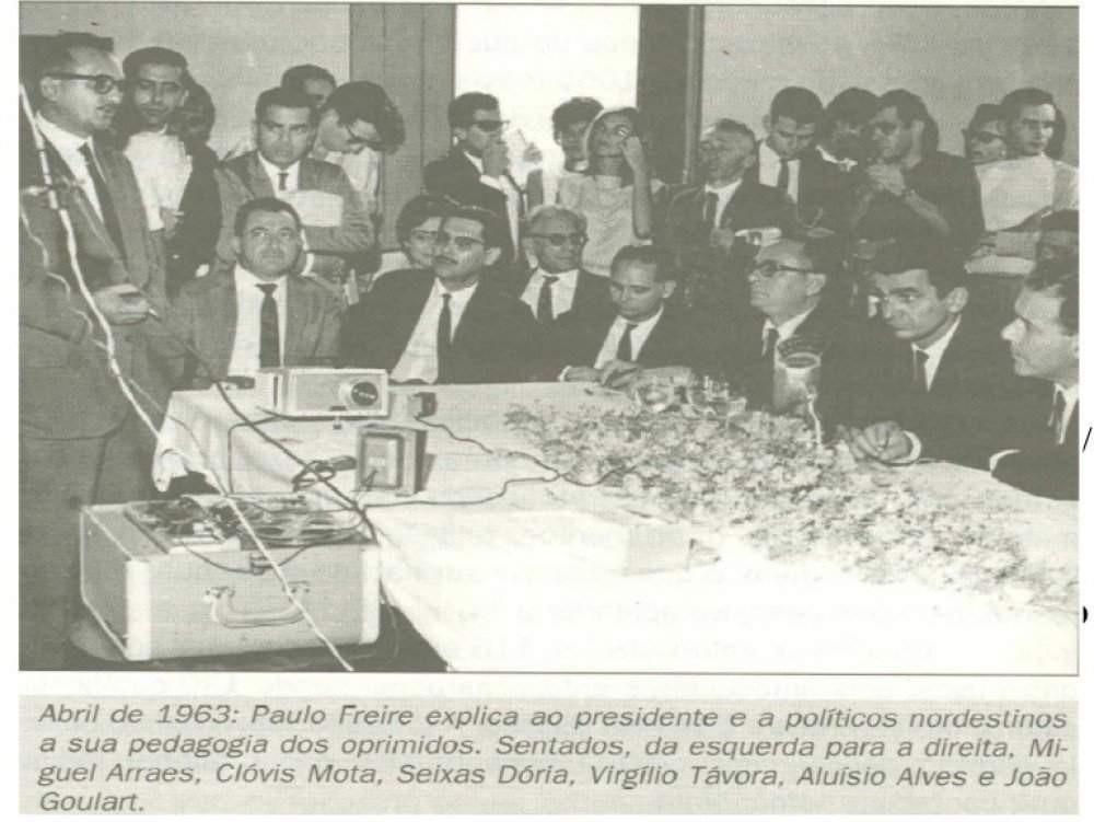 Paulo Freire e João Goulart