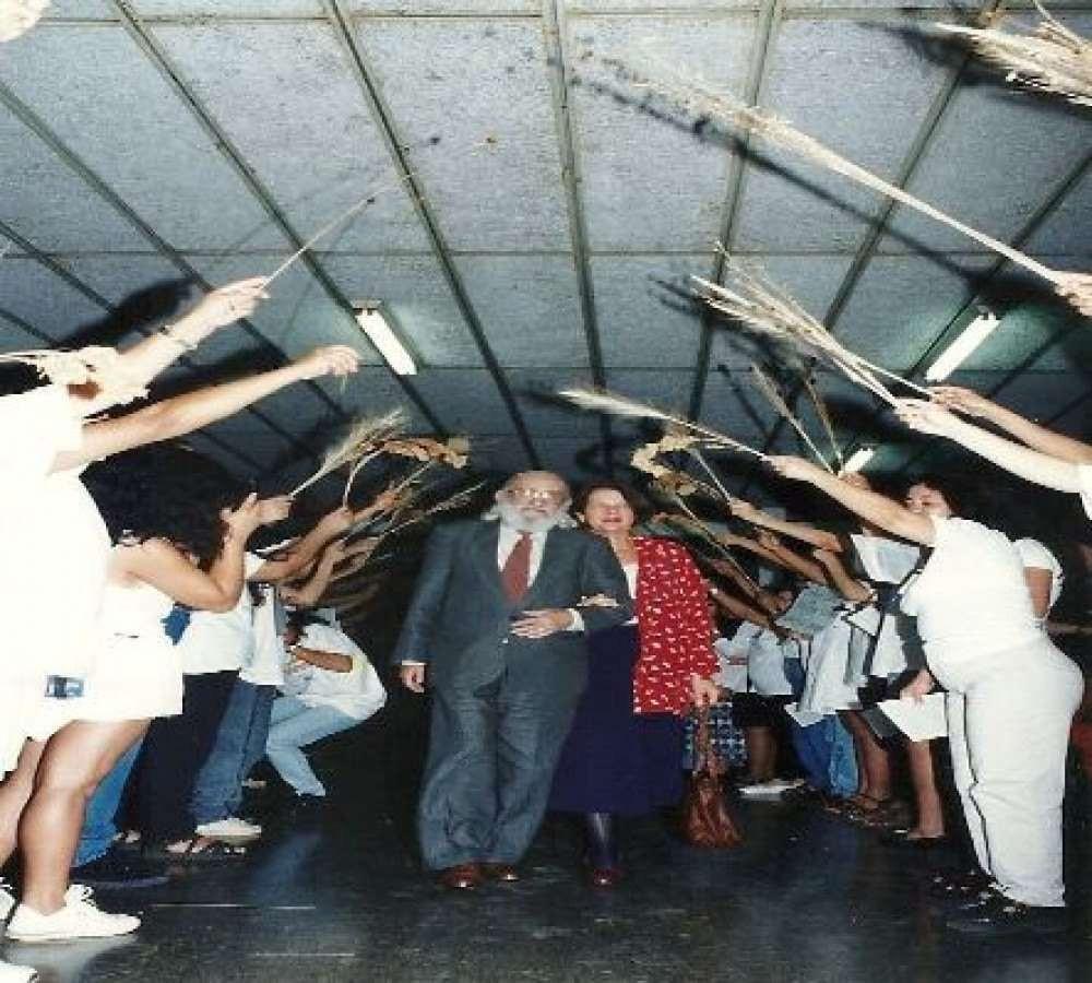 Paulo Freire na Ceilândia em 1996