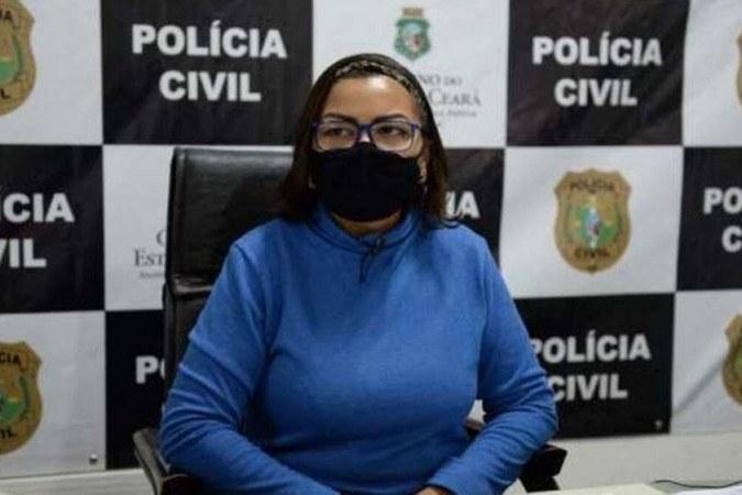 Ana Paula Barroso é diretora adjunta do Departamento de Proteção aos Grupos Vulneráveis (DPGV) da PCCE -  (crédito: PCCE/Reprodução)