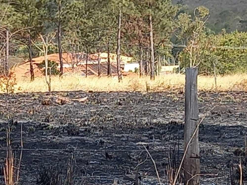 Queimadas. Park Way. Incêndios florestais. Chamas. Fogo causado pela ação humana.