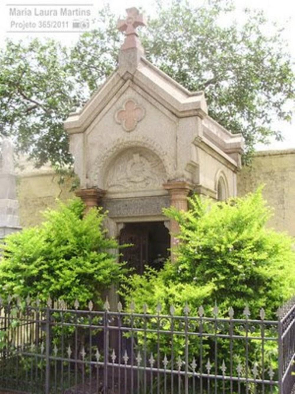 Túmulo de Maria Augusta em São Paulo