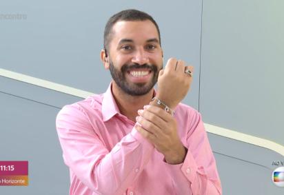 Gil do Vigor repercute por discurso sobre educação e atinge 13 milhões de seguidores no Instagram -  (crédito: Reprodução/Globoplay)