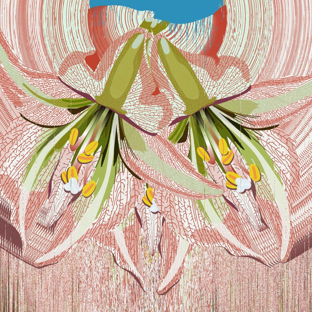 Obra de Monica Rizzoli presente na coleção 'Chovendo no Cerrado'.