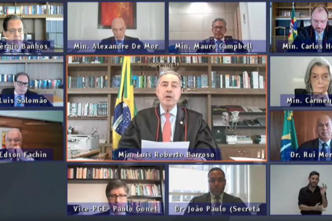 MINISTRO DO TSE CHAMA PRESIDENTE BOLSONARO DE FARSANTE