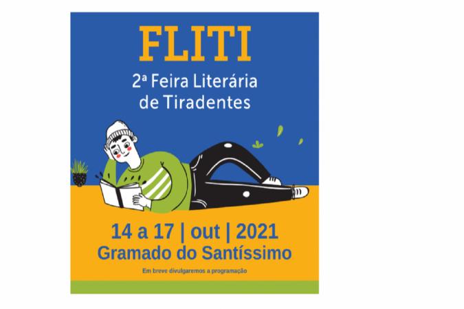 De 14 e 17 de outubro, a cidade de Tiradentes promove a segunda edição de sua feira literária -  (crédito: Divulgação)